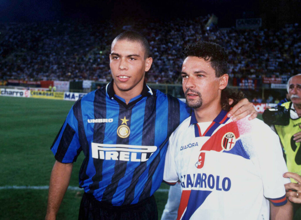 ronaldo and baggio