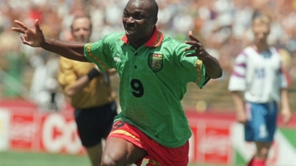 Roger Milla - Cameroon, World Cup, AFCON african cup of nationsafrican cup of nations 2019
