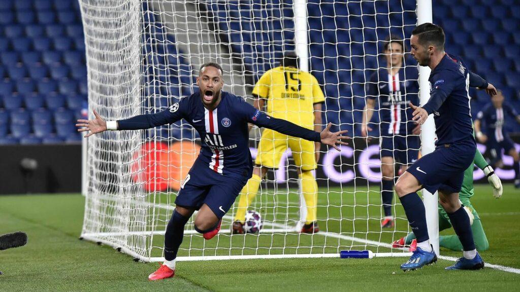 Neymar Champions League 2019/20 restart