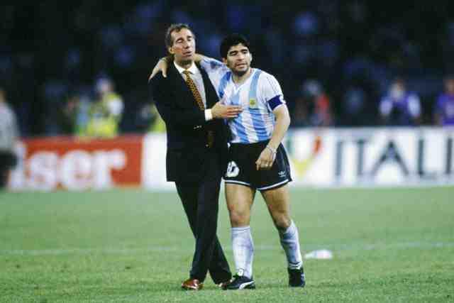 Carlos Bilardo and Maradona, Argentina, 352 formation soccer