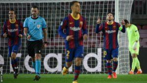 Messi Lionel UCL