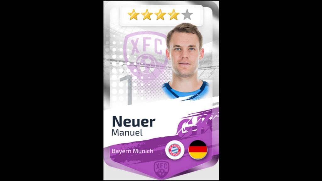 Manuel Neuer card