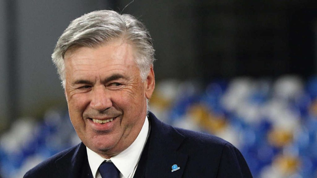 manager Carlo Ancelotti