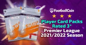 Player card packs rated 3* - Premier League 2021/2022 season