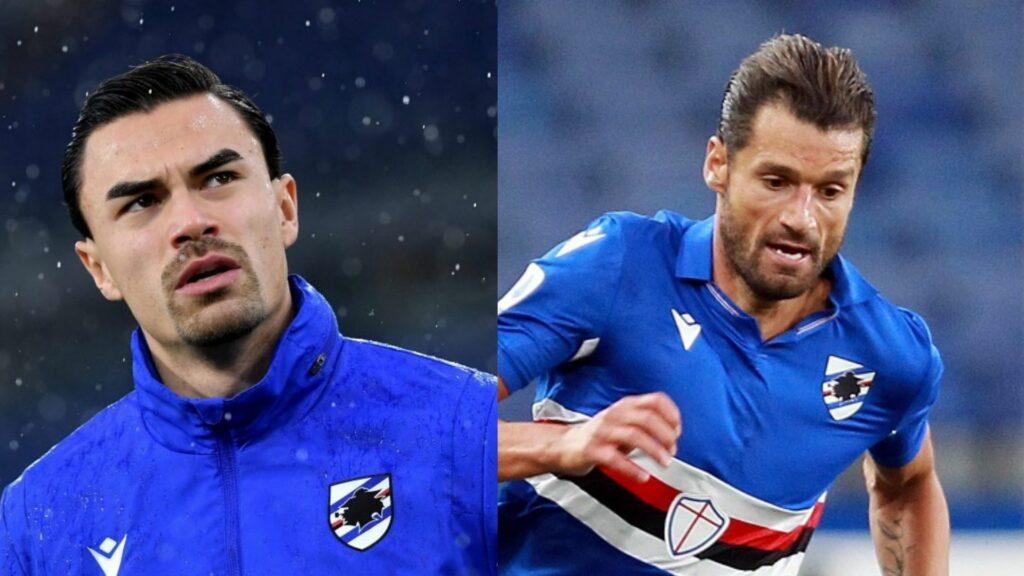 sampdoria fantasy football 2021/2022 candreva audero
