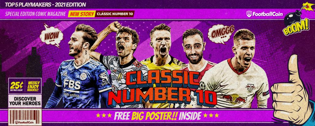 classic number 10s fantasy football playmaker classic number 10 footballers maradona messi thomas muller bruno fernandes marco reus dani olmo james maddison
