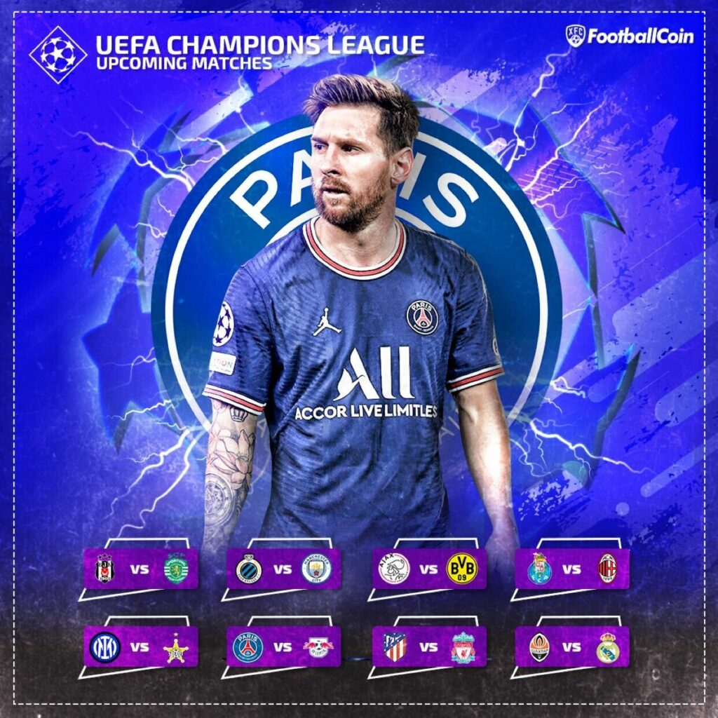 Messi UCL