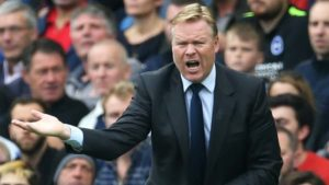 former Premier League manager Ronald Koeman