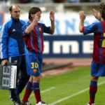 Lionel Messi debutó en Barcelona hace 15 años contra el Espanyol
