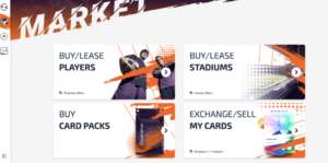 el mercado de FootballCoin