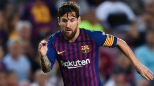 Lionel Messi - Champions League, FC Barcelona